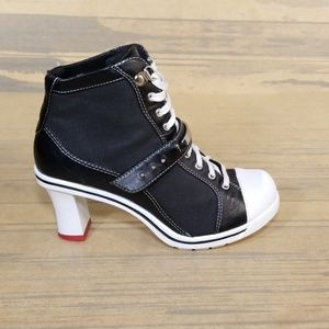 L.E.I Christy Heeled Sneaker Boots